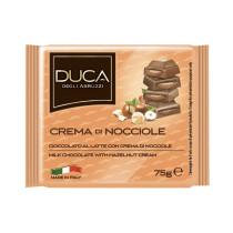Duca degli Abruzzi Tavoletta cioccolata con crema di nocciole 15 pezzi x 75 gr