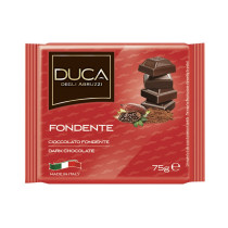 Duca degli Abruzzi Tavoletta cioccolata fondente 15 pezzi x 75 gr