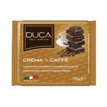 Duca degli Abruzzi Tavoletta cioccolata crema di caffè 15 pezzi x 75 gr