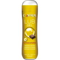 Gel lubrificante aroma al cioccolato Control Lub Gel Chocolate
