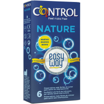 Control Nature Easy Way - preservativi classici con applicatore istruzioni