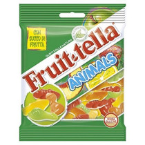 Fruittella Animals, caramelle gommose con forma di animali