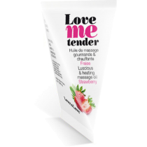 Olio da massaggio edibile Love Me Tender Fragola Love to Love
