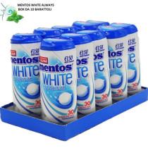 Mentos White Always Peppermint - 10x31gr