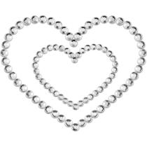Copricapezzoli Mimi Heart Bijoux Indiscrets;Copricapezzoli Mimi Heart Bijoux Indiscrets