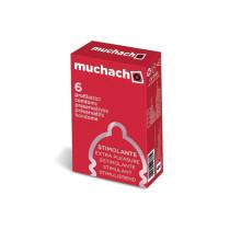 Muchacho Extra Pleasure - preservativi stimolanti 6 pezzi