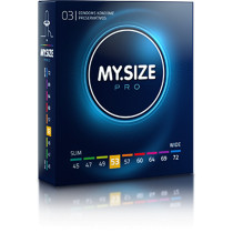 MY.SIZE preservativi 53mm - 3 pezzi