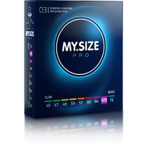 MY.SIZE preservativi 69mm - 3 pezzi