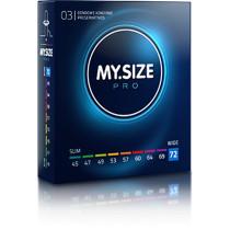 MY.SIZE preservativi 72mm - 3 pezzi