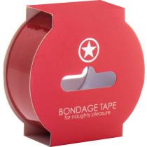 Bondage Tape 17,5 m - rosso