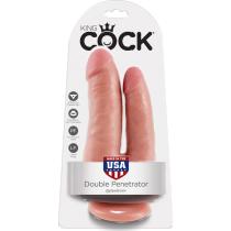 Doppio Dildo Double Penetrator King Cock