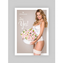 Poster - Say yes! poster lingerie Obsessive