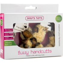 Manette sexy con peluche Furry Handcuff Cheetah Shots Toys