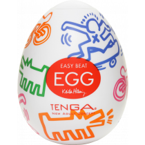 Egg Keith Haring - Street