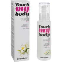 Olio da massaggi lubrificante Touch My Body Love to Love