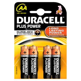 Plus Power AA - 4 batterie