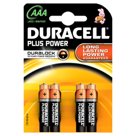 Plus Power AAA - 4 batterie
