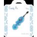 Candy Pie mini stimolatore clitorideo - Cheery blu