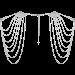 Bijoux Indiscrets Shoulder Jewelry - coprispalle a catena