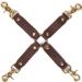 50 Sfumature di Grigio Hog Tie - cinghie di costrizione
