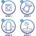 Durex No Latex - preservativi anallergici sottili 6 pezzi