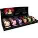 Espositore con prodotti Mini Caress by Candlelight Massage Candle + Display Shunga Erotic Art