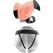 Strapon vibrante vibratore strap on cavo real rapture 8 with balls Tozy4Lovers